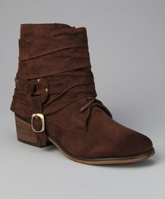 Take a look at this Brown Pisa 24 Boot by Jacobies Footwear on #zulily today!
