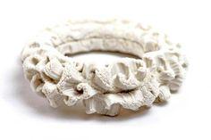 Bracelet |  Tzuri Gueta.  Rubber