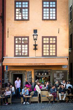 Chokladkoppen -Gamla Stan (the old town), Stockholm, Sweden
