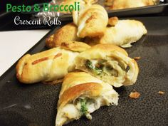 Crescent Rolls - Pesto & Broccoli