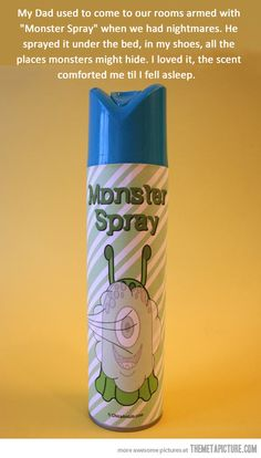 Monster Spray…