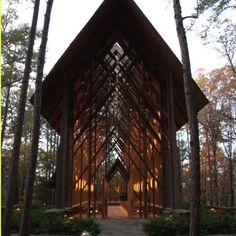 Perfect wedding chapel!