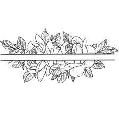 Cute Simple Tattoos, Cute Tattoos For Women, Shoulder Tattoos For Women, Wrist Tattoos For Women, Little Flower Tattoos, Flower Wrist Tattoos, Foot Tattoos, Band Tattoo Designs, Flower Tattoo Designs