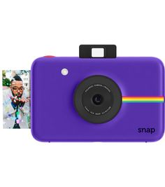 Polaroid Snap Instant Print Camera-Purple