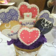 Bridal Shower Centerpiece - Great idea for somewhere at the shower