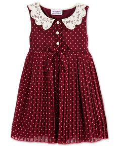 Blueberi Boulevard Baby Girl's Dot Dress - Baby Girl (0-24 months) - Kids & Baby - Macy's