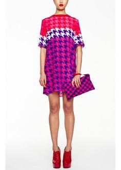AW12 Oversized Silk Tee Dress