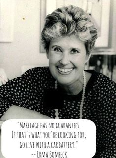 Erma Bombeck love quote funny