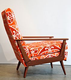 NZ Borrowed Earth Design Cintique Arm Chair.