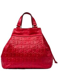 Great red purse...  just a fun lil red purse in a cool shape & the perfect shade of red ♡