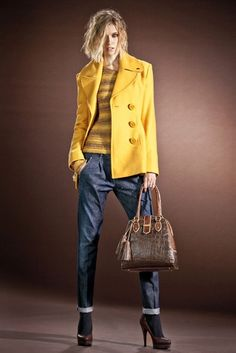 Miss Sixty Fall/Winter 2012-2013 Love the bold yellow!