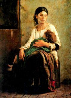 Cristóbal Rojas - Orfandad (1885)