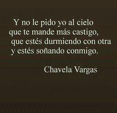 Justo castigo :) Chavela Vargas