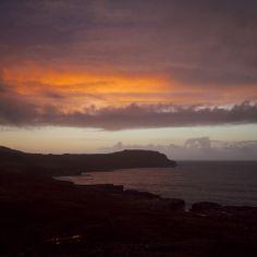 Sunset over Treshnish Point, Isle of Mull. www.treshnish.co.uk