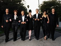 Cast of NCIS - my 2 favorite characters are in the middle :)