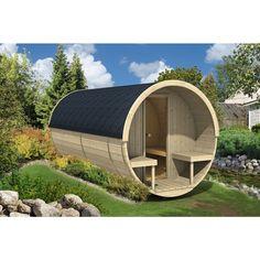 Chalet tonneau parthenay 79200 mat riel pas cher d for Sauna exterieur occasion