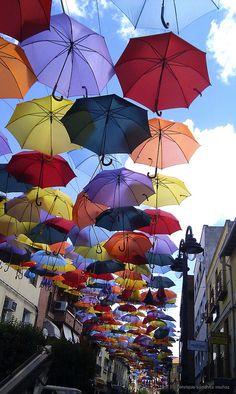 paraguas de colores 2 | Getafe (Madrid, Spain)
