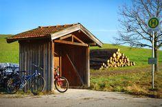 Erholungspause der Radtour in Bayern • bavaria • germany