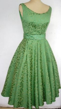 Beautiful Brocade 50s Cocktail dress