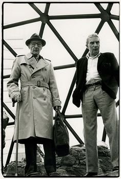 Brion Gysin and William S. Burroughs, Caravan of Dreams, Texas by Ira Cohen, 1983.