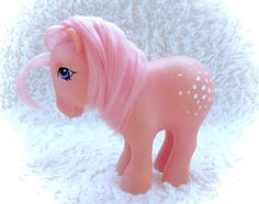 G1 My Little Pony Cotton Candy 1982 Vintage MLP by CuteVintageToys