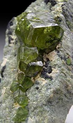 Demantoid Garnet / Mineral Friends <3