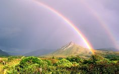 Rainbow, Connemara, Ireland