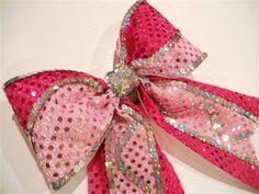 GLITZY GALLERY - Custom Glitzy Cheer Bows | Custom Competition Bows | Practice Bows | Rhinestone Logos | Personalized Beach Towels and Zebra Shorts