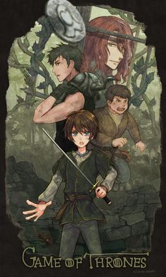 15 times artists turned Game of Thrones into a kickass anime Jon E Daenerys, Daenerys Targaryen, Arte Game Of Thrones, Game Of Thrones Arya, Sansa Stark, Jon Snow, Htf Anime, Game Of Thones, I Love Games