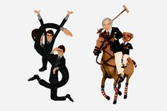 Fashion Logo Illustrations by Mike Frederiqo
