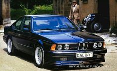 BMW E24 Alpina B7 Turbo
