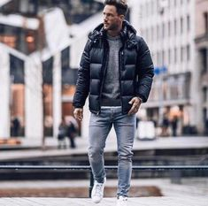 winter outfits for work . winter outfits for school . winter outfits for going out Fall Fashion Outfits, Dope Fashion, Winter Fashion Outfits, Dope Outfits, Men Winter Fashion, Winter Outfit For Men, Ootd Winter, Casual Winter, Winter Clothes For Men