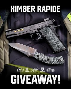 The No Shows Giveaway. VZ Grips has teamed up with Vertx, Breakthrough, Southern Grind and of Kimber to combine for a seriously nice give away to one lucky customer. For more details visit the link below to enter. Custom 1911 Grips, Shooting Equipment, Ammo Cans, 1911 Pistol, Guns And Ammo, Firearms, Hand Guns, Knives, Giveaway