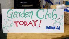 Garden Club at Main Street El! #Schoolgardens #LA