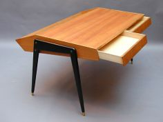 Rare writing desk with bookrack by Sigvard Bernadotte Sweden 1950's Price: SOLD