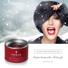 An intense and brilliant red, for women with a daring soul. Find it on www.feduacosmetics.com Un rosso intenso e brillante, per donne dall'animo audace. Lo trovi su www.feduacosmetics.com #feduacosmetics #christmasinspiration #beautyinspiration