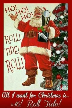 Merry Christmas Y'all ...Roll Tide <3