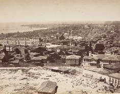 Beyazıt Kulesi'nden Laleli Yönü, Abdullah Freres Fotoğrafı, 1870'ler