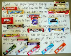 Great card idea for Father's day or even birthdays!