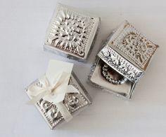 Balinese Tin Wedding Favour Box