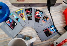 Nintendo: Making A Splash NES Cartridge Coasters