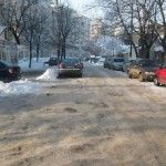 Braila, Strada Unirii, fosta Strada Santului Karl Marx, Snow, Outdoor, Outdoors, Outdoor Games, Human Eye