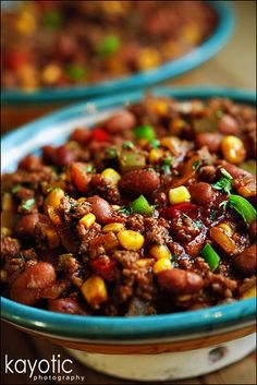 Kay's Chili Con Carne http://www.kayotic.nl/blog/kays-chili-con-carne