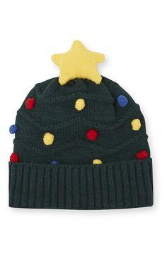 Primark - Beanie im Weihnachtsbaum-Design