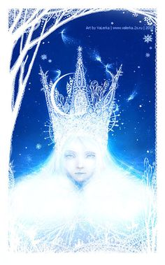 Snow Queen by VaLerKa-Ru Awesome Tribute to Hans Christian Andersen( Hans Cristian Andersen was born in Denmark on April Ice Queen, Snow Queen, Snow Fairy, Classic Fairy Tales, Christmas Fairy, Ice Princess, Fanart, Winter Wonderland, Fantasy Art