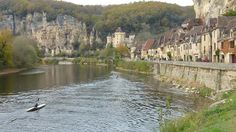 Late autumn in the Dordogne - around 2 hrs driving time from La Trimouille