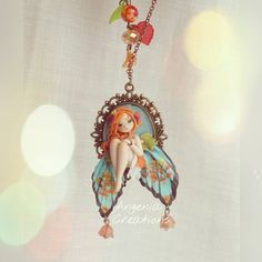 «Hello world :) this new fairy Clary awaits this evening at 21:00 in my etsy shop, along with other creations, in the afternoon I'll show all those that…»