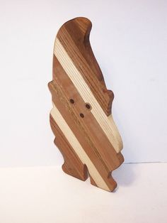 Garden Gnome Cheese Cutting Board Handcrafted from by tomroche