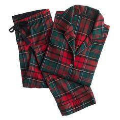 Plaid Pajama Ser // J.Crew