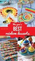 This Year's BEST Rainbow Desserts